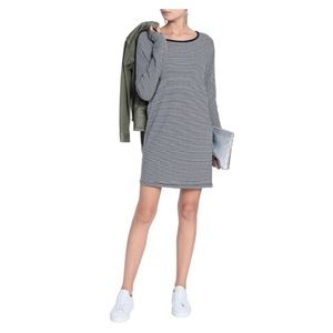 NWOT▫️RAG & BONE Striped Cotton-Jersey Mini Dress